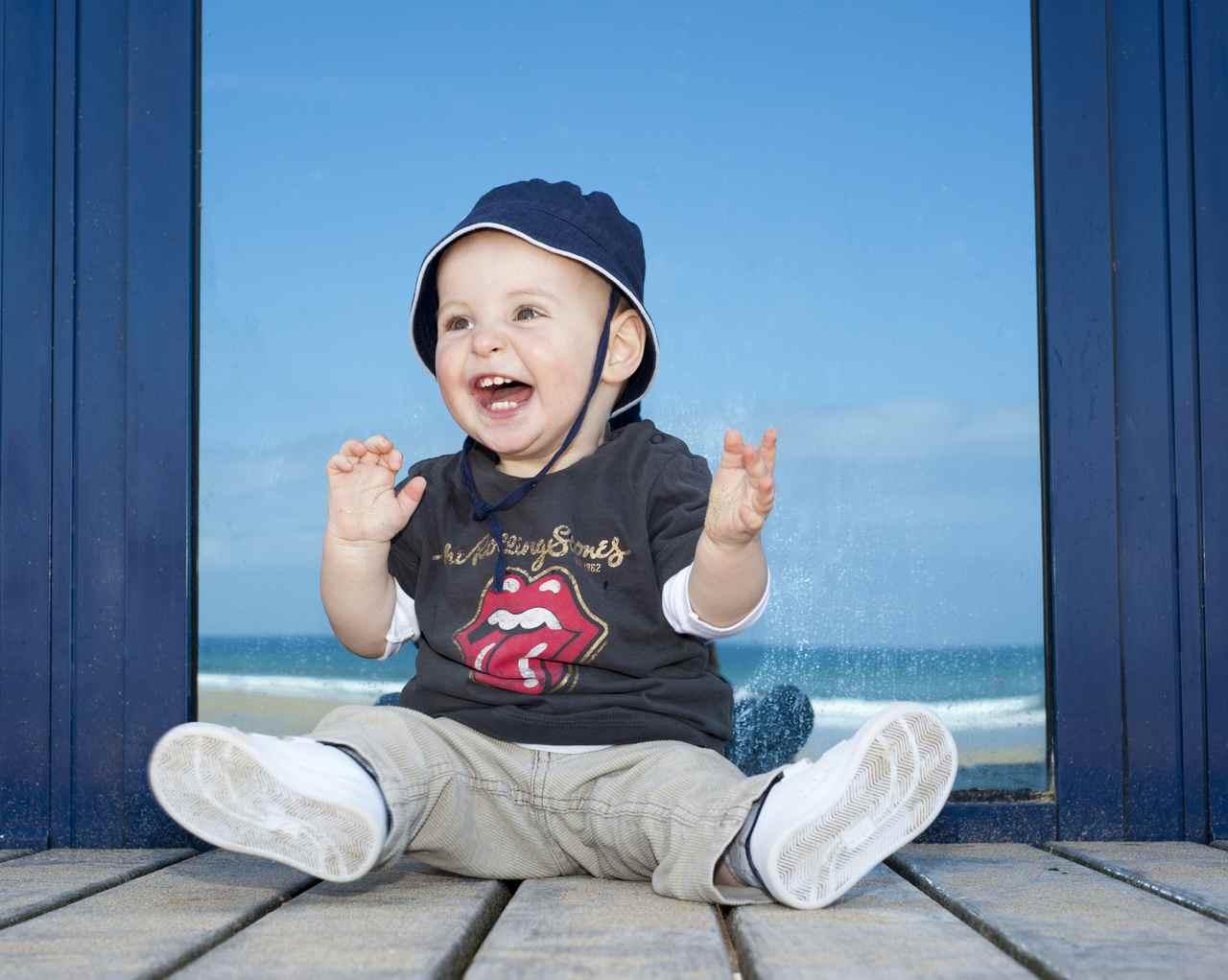 Calvin on the Beach inGijon